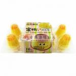 台湾原装进口 自然素材蜜桃芒果味杯杯乐/果冻255克 美味营养丰富