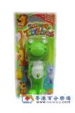 香港代购 日本原装U—company儿童牙刷 伸首企立牙刷 青蛙型 香港代购
