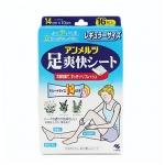 香港代购 小林乐足冰爽贴(8片装)