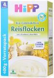 德国进口喜宝HiPP辅食有机免敏纯大米米粉米糊 400g 4月+