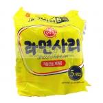 香港代购 OTTOGI 不倒翁 即食面 5包装 每包110克