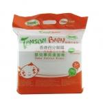 香港代购 Tenson Baby 婴儿专用吸水力强纯天然清洁棉 约500片