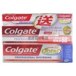 香港代购 高露洁抗敏牙膏150*2送全65G效专业牙龈护理牙膏