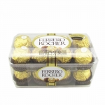 意大利 费列罗FERRERO ROCHER 榛果巧克力16粒