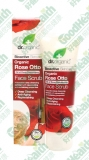 Bioactive Organic 生物活性有机玫瑰油温和面部磨砂膏dr.organic