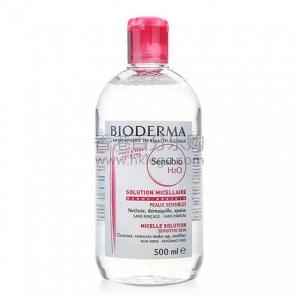 法国 Bioderma 贝德玛卸妆水 500ml 贝德玛舒妍洁肤液 粉水 红色包装