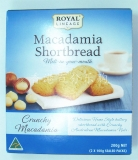 澳洲进口Borlands夏威夷果仁曲奇饼 原味 200g/盒