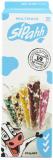sipahh澳澳洲咕噜噜神奇变味牛奶儿童吸管5种口味25只装