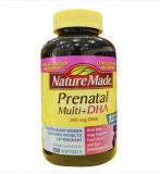 香港代购 美国原装进口Nature Made孕妇多种维生素含DHA叶酸片 150粒