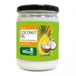 有机之源100%初榨冷压椰子油420ml 纯天然新鲜椰子/拌食