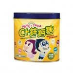 香港代购 Nana & Taka维生素C+鋅钙糖150g 儿童补锌补钙DHA