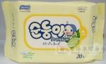 香港代购 韩国Suomi高级压花婴儿湿纸巾20片