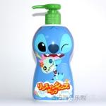 香港代购 日本 bandai 史迪仔2合1儿童洗发水300ml 无泪配方