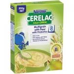 Nestle雀巢婴儿杂粮高铁益生菌米糊/米粉含香梨 8个月+