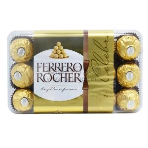 意大利 FERRERO ROCHER/费列罗 夹心巧克力 30粒装
