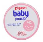 贝亲痱子粉贝亲爽身粉热痱粉150g 粉色罐装